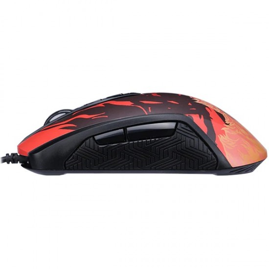 Mouse gaming Marvo G939 Fire Wolf, 10000 DPI, multicolor