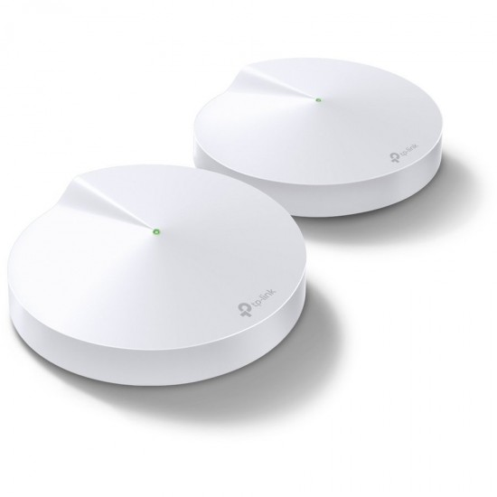 Sistem Wireless Mesh Gigabit TP-LINK Deco M5 AC1300, Dual Band 400 + 867 Mbps, 2-pack