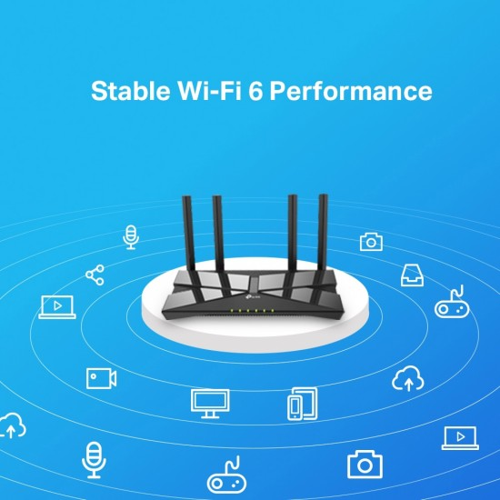 Router wireless TP-Link Archer AX10, Dual-band, WiFi 6, Gigabit