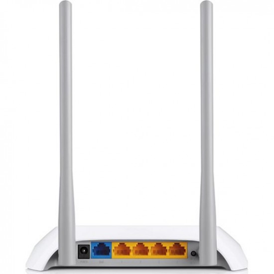 Router wireless TP-Link TL-WR840N 300Mbp, 2 antene interne, Alb