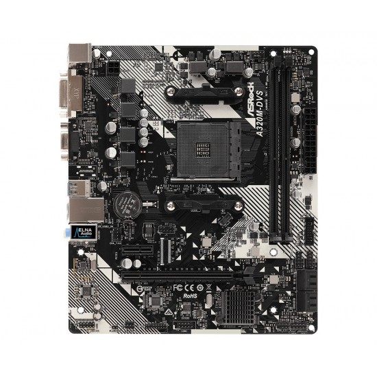 Placa de baza ASRock A320M-DVS R4.0, Socket AM4