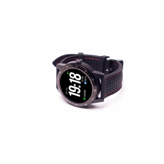 Ceas Smartwatch E-BODA Smart Time 360, Android/iOS, LCD, Silicon, IP67