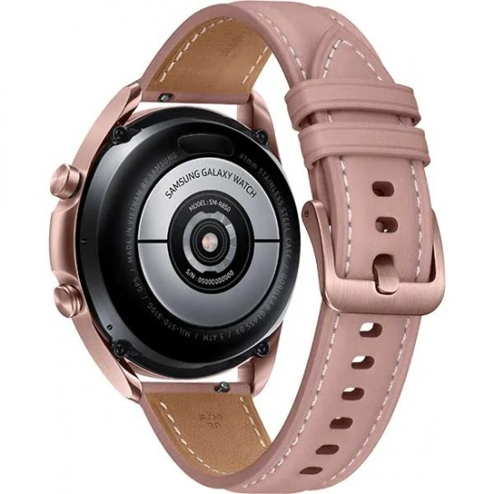 Smartwatch SAMSUNG Galaxy Watch3 41mm, Wi-Fi, Android/iOS, Stainless Steel, Gold